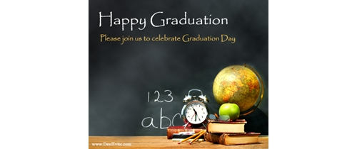Join us for Graduation Day