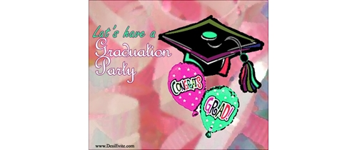 Let's have a Graduation  party