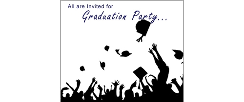 Graduation Party time please join us