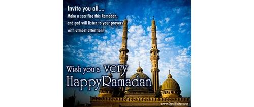 Ramadan Invitation