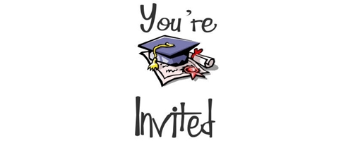 You are invited on Graduation Party