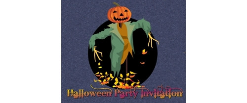 Monster Masquerade Halloween Party Invitation