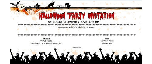 Join the Halloween Party