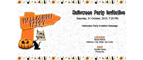 Halloween way of Party