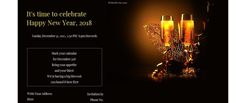 It's time to celebrate New Year please join us for a Party tonight