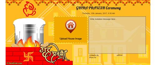 Marathi housewarming design