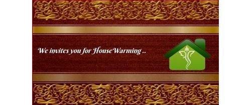 Housewarming Invitation Video