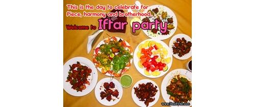 Welcome to Iftar party