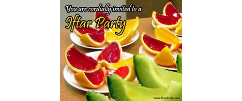 You are invited to Iftar party
