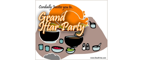 Cordiadlly invited for Iftar party