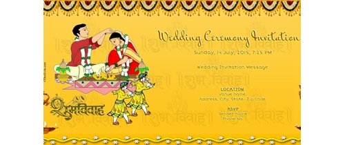 Invited all our Friends and Relatives Wedding ceremony