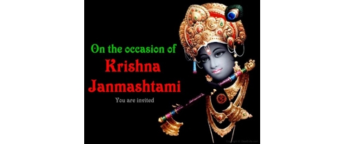 On the occession of Janmashtami let's us celebrate together
