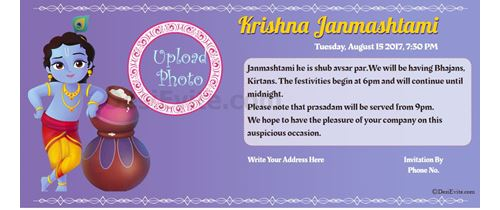 Let's Celebrate Krushna janm