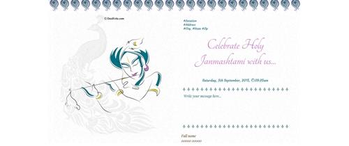 Celebrate Holy Janmashtami