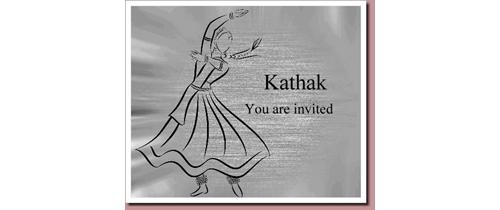 Kathak Invitation