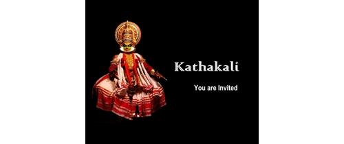 Kathakali Invitation