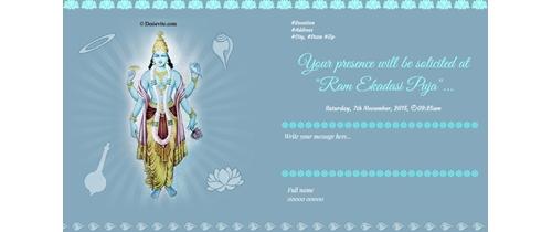Ram Ekadasi Puja