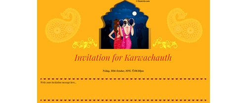 Welcome to Karwachauth