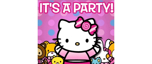 Party time! come on my friends have a Kitty Party
