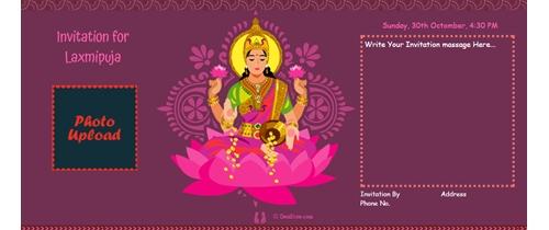 Hindu festival of lights with Laxmi Puja