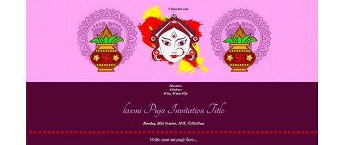 Laxmi Puja Aradhana