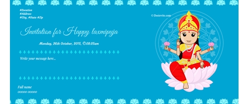 Invite you all for Kojagaori Laxmi Puja