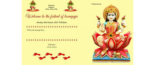Welcome to the festival of laxmipuja