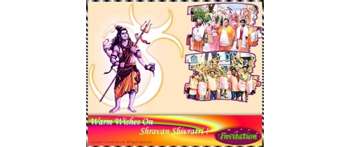 Shravan Shivratri Invitation