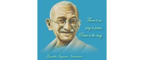 Invitation for Mahatma Gandhi Jayanti