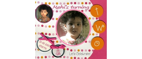 Lets celebraet 2nd Birthday Party