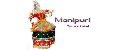 Manipuri dance festival Invitation