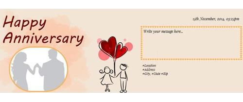 Free wedding anniversary invitation card online invitations invitation with image happy anniversary stopboris Image collections