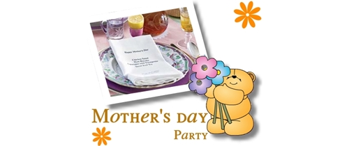 Please come and join the party on Mother's day