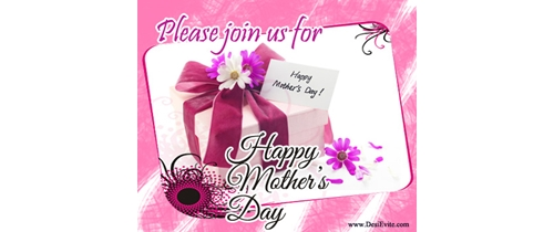 Please join us for Mother's Day