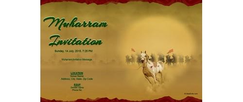Muharram Invitation