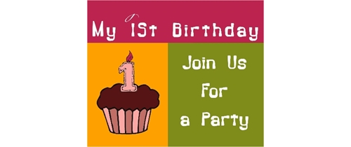Join us for 1st Birthday party