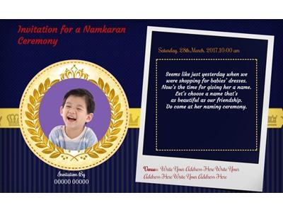 Baby boy Naming ceremony