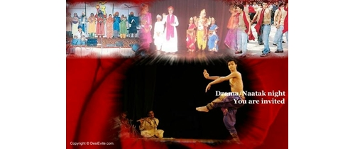 Drama/Naatak Night Invitation