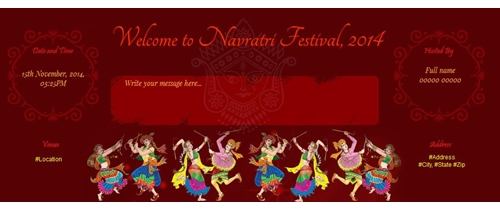It's dandiya time! Please join us on this Navaratri