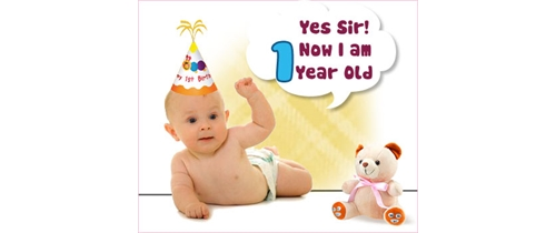 Yes Sir! Now i am 1year old