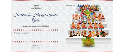 Welcome to Navratri Golu festival