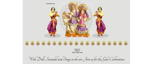 With Dolls, Sunadal and Songs in the air Join us for the Golu Celebrations