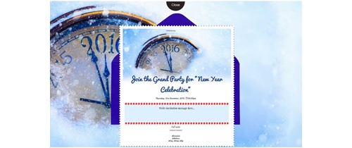 Grand party for Happy New Year Celebration