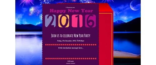 Celebrate Happy New Year 2016