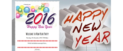 Join us to celebrate New Year Party