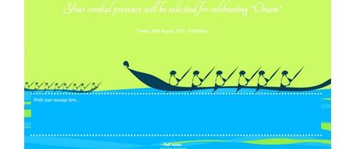 Onam - festival of peace and prosperity