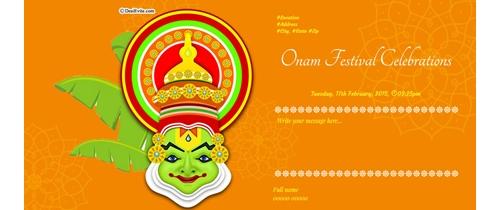 Celebration of Onam