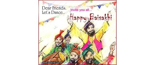 lets dance on baisakhi