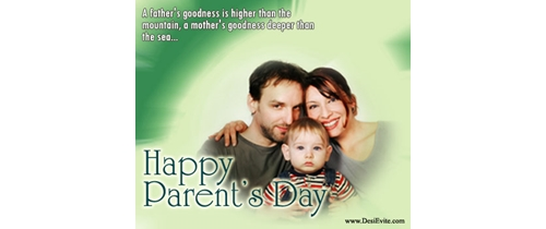 let's celebrate the Parents Day party