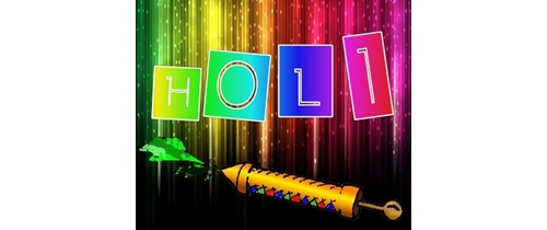 Enjoy Holi with colors so please join us